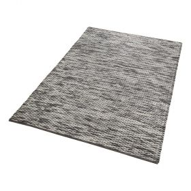 tapis moderne reflection gris