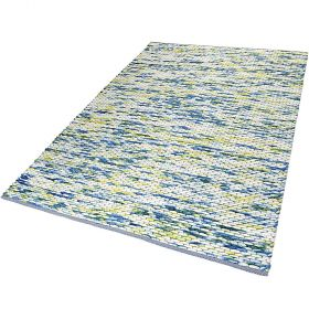 tapis moderne reflection bleu esprit