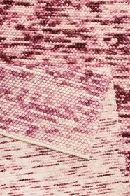 tapis winter lauren kelim rouge et beige - esprit