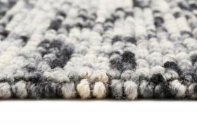 tapis winter lauren kelim bleu et beige - esprit