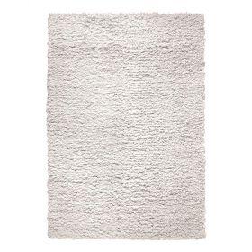 tapis esprit home moderne fluffy blanc