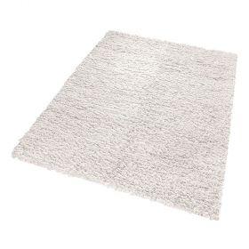 tapis esprit home fluffy blanc moderne