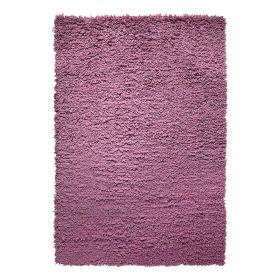 tapis esprit home violet fluffy moderne