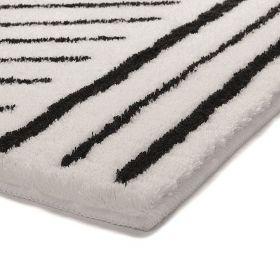 tapis de bain gris esprit funky