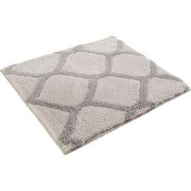 tapis de bain oriental tile crème esprit