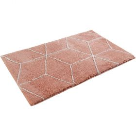 tapis de bain orange esprit flair