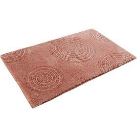 tapis de bain esprit yoga orange