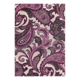tapis esprit home it piece moderne violet