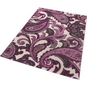 tapis esprit home it piece violet moderne