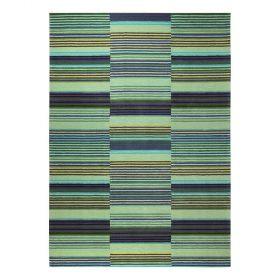 tapis moderne esprit vert colorpop