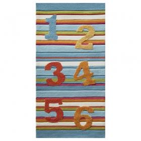 tapis enfant multicolore 123 esprit home