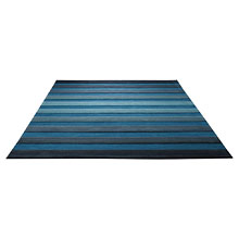 tapis moderne cross walk bleu esprit home