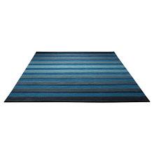 tapis moderne cross walk bleu esprit home
