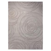 tapis esprit home moderne carving art beige