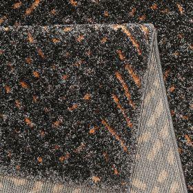 tapis gris moderne relief esprit