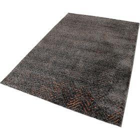 tapis relief gris - esprit