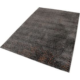tapis moderne relief gris esprit
