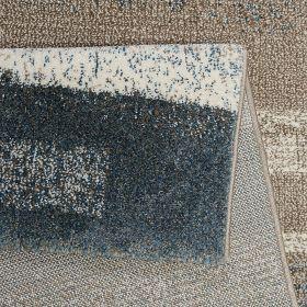 tapis moderne esprit dreaming bleu et gris