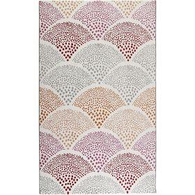 tapis moderne chimera rose esprit