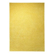 tapis colour in motion jaune - esprit home