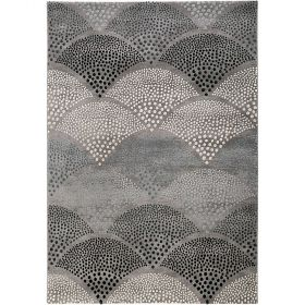 tapis moderne chimera 2.0 gris esprit