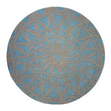 tapis esprit home oriental lounge turquoise