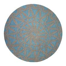 tapis esprit home oriental lounge turquoise