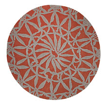 tapis oriental lounge orange esprit home