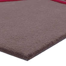 tapis moderne brainstorm taupe esprit home