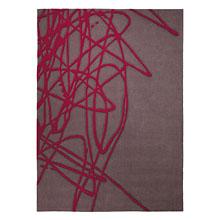 tapis moderne brainstorm taupe esprit home