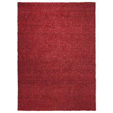 tapis moderne rouge esprit home spacedyed