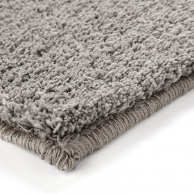 tapis esprit home shaggy corn carpet taupe