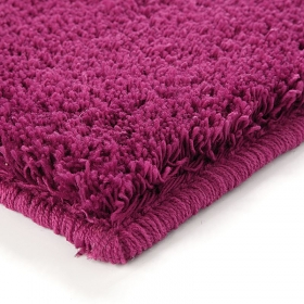 tapis shaggy esprit home corn carpet fuchsia