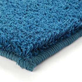 tapis shaggy corn carpet bleu esprit home