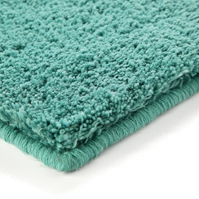 tapis shaggy bleu lagon esprit home corn carpet
