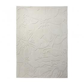 tapis tufté main lily écru esprit home