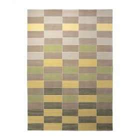 tapis moderne fida vert - esprit home