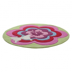 tapis enfant fantasy flower esprit home
