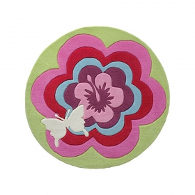 tapis esprit home fantasy flower