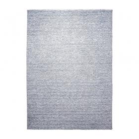 tapis homie shaggy esprit home bleu gris