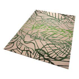 tapis moderne esprit vert natural wilderness