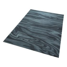 tapis moderne esprit bleu deep water