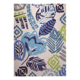 tapis moderne esprit bleu tara