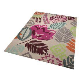 tapis tara esprit multicolore moderne