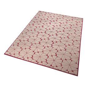 tapis moderne rose esprit urbania