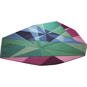 tapis moderne jewel multicolore
