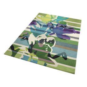 tapis moderne floria vert - esprit