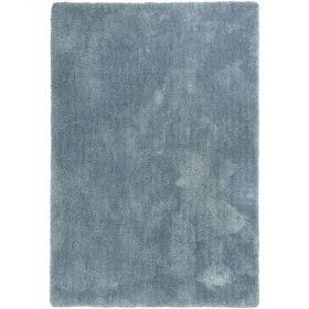 tapis shaggy relaxx gris bleu esprit