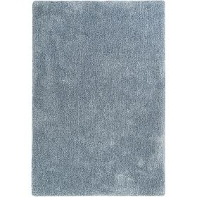 tapis esprit shaggy relaxx gris bleu