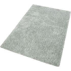 tapis shaggy relaxx vert argent esprit
